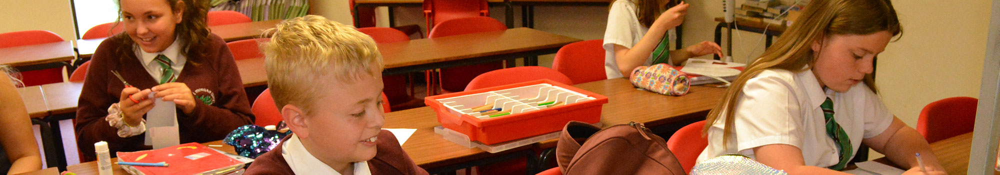 Pupils and facilities at Ysgol Morgan Llwyd in Wrexham