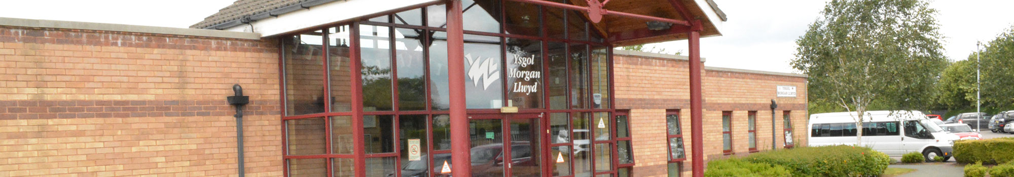 Pupils and facilities at Ysgol Morgan Llwyd in Wrexham