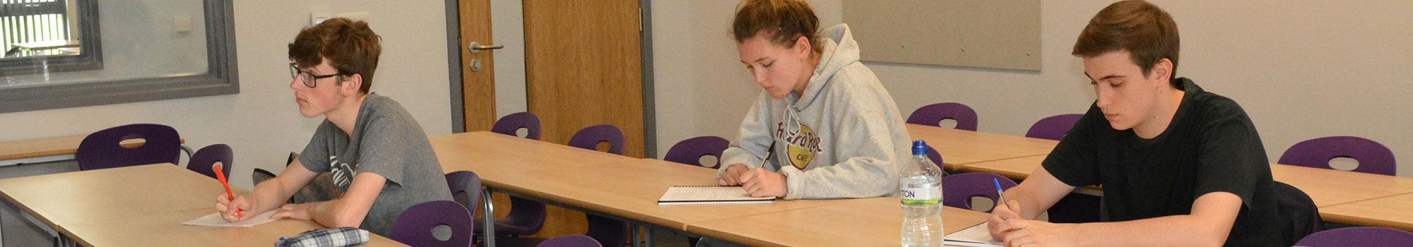 Pupils and facilities at Ysgol Morgan Llwyd Sixth Form in Wrexham
